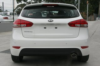 2018 Kia Cerato YD MY18 S Clear White 6 Speed Manual Hatchback