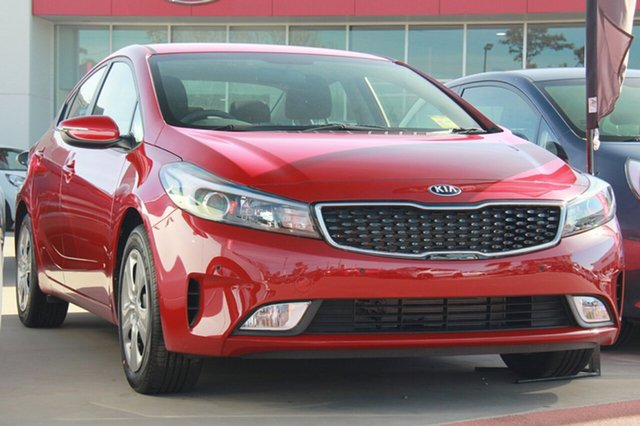 New Kia Cerato YD MY18 S, 2018 Kia Cerato YD MY18 S Temptation Red 6 Speed Sports Automatic Sedan