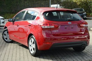 2018 Kia Cerato YD MY18 S Temptation Red 6 Speed Sports Automatic Hatchback.