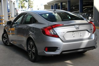 2019 Honda Civic 10th Gen MY19 VTi-L Lunar Silver 1 Speed Constant Variable Hatchback.