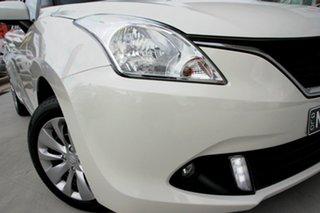 2019 Suzuki Baleno EW GL White 4 Speed Automatic Hatchback.