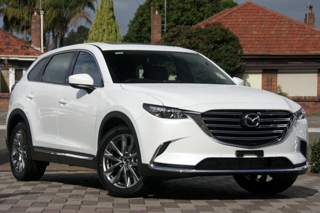 New Mazda CX-9 TC GT SKYACTIV-Drive i-ACTIV AWD, 2020 Mazda CX-9 TC GT SKYACTIV-Drive i-ACTIV AWD Snowflake White 6 Speed Sports Automatic Wagon
