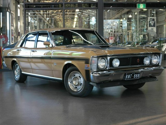 Used Ford Falcon XW GT North Melbourne, 1970 Ford Falcon XW GT Gold 4 Speed Manual Sedan