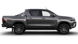 2017 Toyota Hilux GUN126R SR5 (4x4) Graphite 6 Speed Automatic Dual Cab Utility.