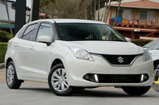 2019 Suzuki Baleno EW GL White 4 Speed Automatic Hatchback.