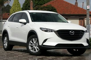 2019 Mazda CX-9 TC Sport SKYACTIV-Drive White Pearl 6 Speed Sports Automatic Wagon.