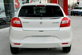 2019 Suzuki Baleno EW GL White 4 Speed Automatic Hatchback