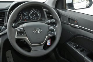 2018 Hyundai Elantra AD MY18 Active Polar White 6 Speed Manual Sedan