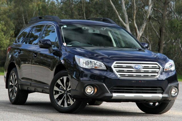 New Subaru Outback B6A MY16 2.5i CVT AWD Toowong, 2016 Subaru Outback B6A MY16 2.5i CVT AWD Dark Blue 6 Speed Constant Variable Wagon