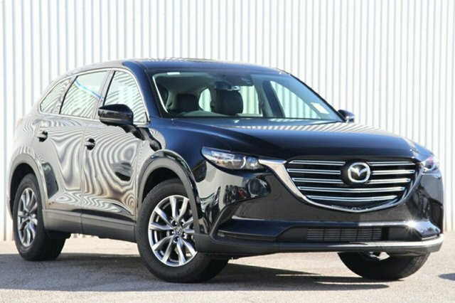 New Mazda CX-9 TC Touring SKYACTIV-Drive Hindmarsh, 2021 Mazda CX-9 TC Touring SKYACTIV-Drive Jet Black 6 Speed Sports Automatic Wagon