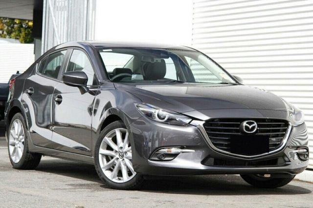 New Mazda 3 BN5238 SP25 SKYACTIV-Drive GT, 2018 Mazda 3 BN5238 SP25 SKYACTIV-Drive GT Machine Grey 6 Speed Sports Automatic Sedan
