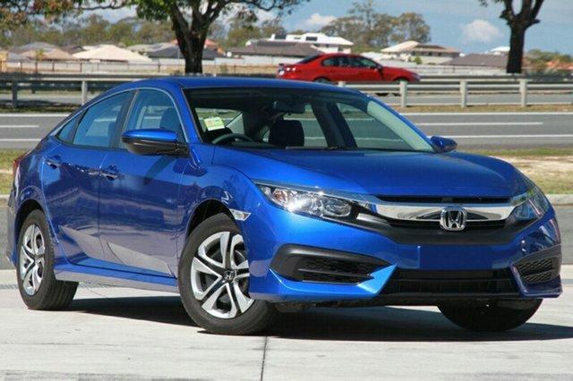 New Honda Civic 10th Gen MY19 VTi, 2019 Honda Civic 10th Gen MY19 VTi Blue 1 Speed Constant Variable Sedan