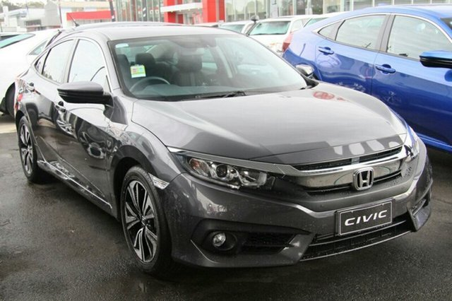 New Honda Civic 10th Gen MY19 VTi-L, 2019 Honda Civic 10th Gen MY19 VTi-L Modern Steel 1 Speed Constant Variable Sedan