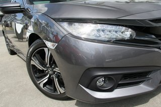 2018 Honda Civic 10th Gen MY18 RS Modern Steel 1 Speed Constant Variable Sedan.