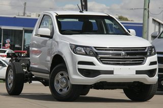 2019 Holden Colorado RG MY19 LS 4x2 Summit White 6 Speed Sports Automatic Cab Chassis.