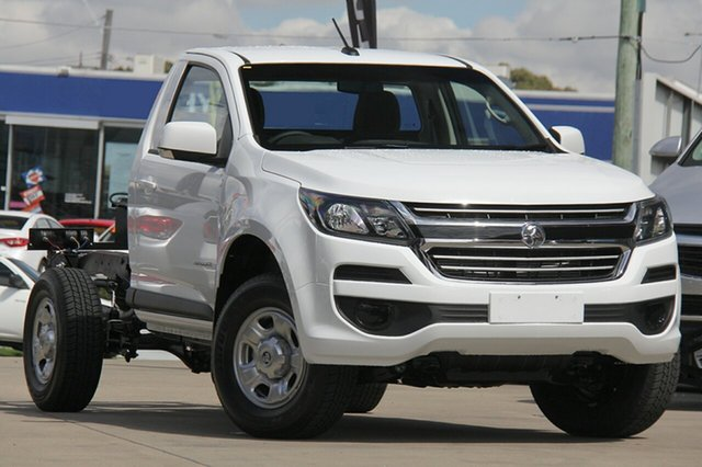 New Holden Colorado RG MY19 LS 4x2, 2019 Holden Colorado RG MY19 LS 4x2 Summit White 6 Speed Sports Automatic Cab Chassis
