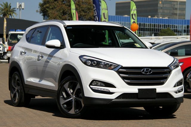 New Hyundai Tucson TL2 MY18 Elite 2WD, 2017 Hyundai Tucson TL2 MY18 Elite 2WD Pure White 6 Speed Sports Automatic Wagon