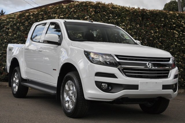 New Holden Colorado RG MY19 LT Pickup Crew Cab, 2019 Holden Colorado RG MY19 LT Pickup Crew Cab Summit White 6 Speed Sports Automatic Utility