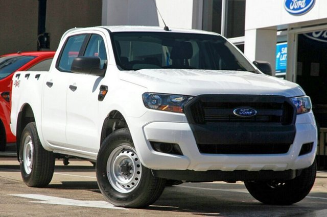 New Ford Ranger PX MkII MY18 XL Double Cab, 2017 Ford Ranger PX MkII MY18 XL Double Cab Frozen White 6 Speed Sports Automatic Utility