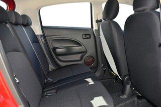 2019 Mitsubishi Mirage LA MY19 ES Red Planet Continuous Variable Hatchback