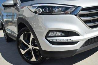 2017 Hyundai Tucson TL2 MY18 Elite D-CT AWD Platinum Silver Metallic 7 Speed.