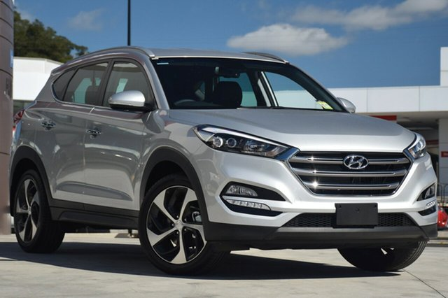 New Hyundai Tucson TL2 MY18 Elite D-CT AWD, 2017 Hyundai Tucson TL2 MY18 Elite D-CT AWD Platinum Silver Metallic 7 Speed