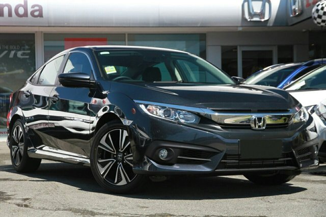 New Honda Civic 10th Gen MY18 VTi-L, 2018 Honda Civic 10th Gen MY18 VTi-L Blue 1 Speed Constant Variable Sedan