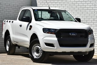 2017 Ford Ranger PX MkII MY18 XL Super Cab Cool White 6 Speed Manual Utility.