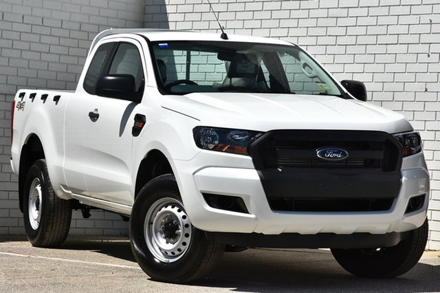 New Ford Ranger PX MkII MY18 XL Super Cab, 2017 Ford Ranger PX MkII MY18 XL Super Cab Cool White 6 Speed Manual Utility