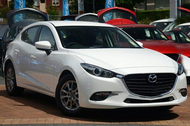 New Mazda 3 BN5478 Touring SKYACTIV-Drive, 2018 Mazda 3 BN5478 Touring SKYACTIV-Drive White Pearl 6 Speed Sports Automatic Hatchback