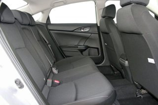 2018 Honda Civic 10th Gen MY18 VTi Lunar Silver 1 Speed Constant Variable Sedan
