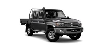 2021 Toyota Landcruiser 70 Series VDJ79R GXL Silver 5 Speed Manual Double Cab Chassis.