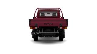 2018 Toyota Landcruiser VDJ79R GXL Merlot Red 5 Speed Manual Cab Chassis