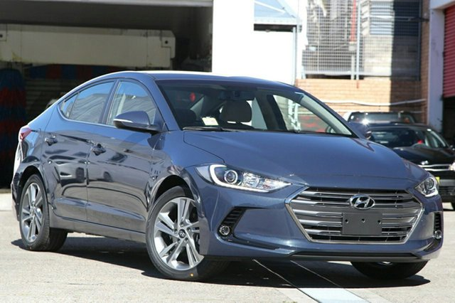 New Hyundai Elantra AD MY18 Elite, 2018 Hyundai Elantra AD MY18 Elite Intense Blue 6 Speed Sports Automatic Sedan