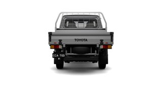 2021 Toyota Landcruiser 70 Series VDJ79R GXL Silver 5 Speed Manual Double Cab Chassis