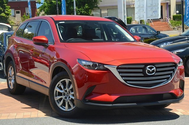 New Mazda CX-9 TC Touring SKYACTIV-Drive i-ACTIV AWD, 2018 Mazda CX-9 TC Touring SKYACTIV-Drive i-ACTIV AWD Soul Red Crystal 6 Speed Sports Automatic