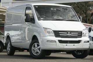 2020 LDV V80 MY19 Low Roof SWB Blanc White 6 Speed Automated Manual Van.