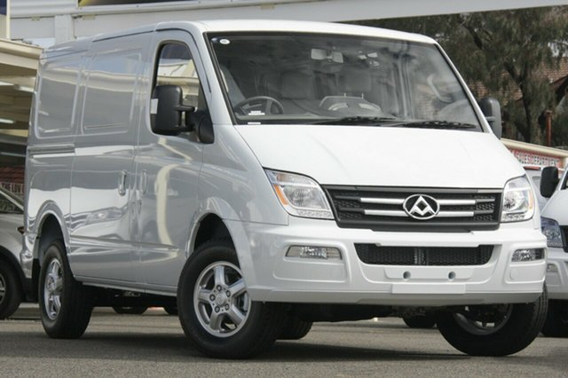 New LDV V80 MY17 Low Roof SWB, 2018 LDV V80 MY17 Low Roof SWB Blanc White 6 Speed Automated Manual Van