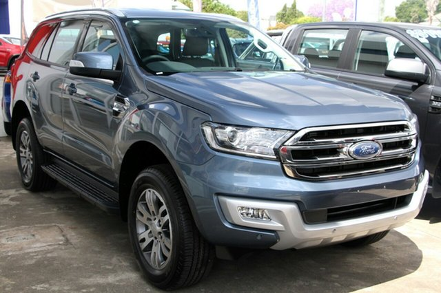 New Ford Everest UA MY18 Trend RWD, 2018 Ford Everest UA MY18 Trend RWD Blue Reflex 6 Speed Sports Automatic Wagon