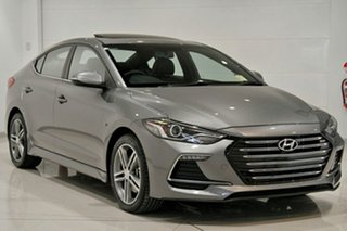 2018 Hyundai Elantra AD MY18 SR DCT Turbo Sparkling Metal 7 Speed Sports Automatic Dual Clutch Sedan.