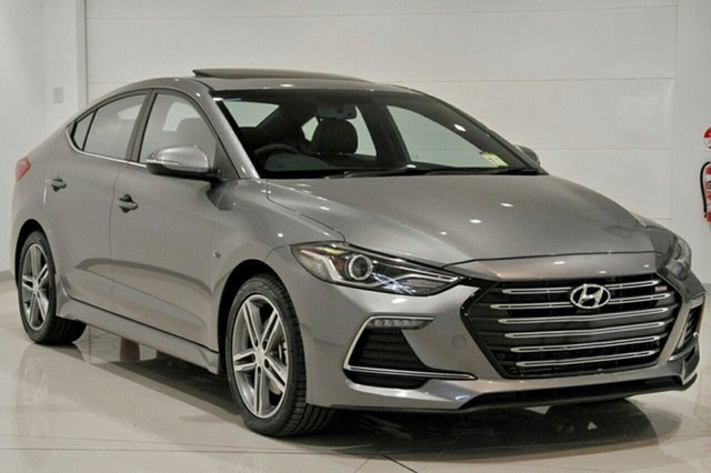 New Hyundai Elantra AD MY18 SR DCT Turbo, 2018 Hyundai Elantra AD MY18 SR DCT Turbo Sparkling Metal 7 Speed Sports Automatic Dual Clutch Sedan
