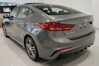 2018 Hyundai Elantra AD MY18 SR DCT Turbo Sparkling Metal 7 Speed Sports Automatic Dual Clutch Sedan.