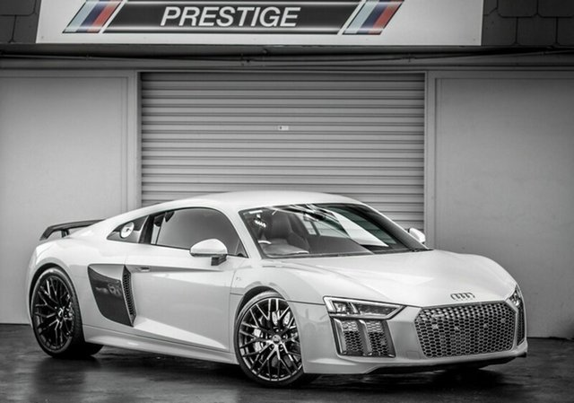 Used Audi R8  Plus, 2016 Audi R8 Plus White 7 Speed Auto Dual Clutch Coupe