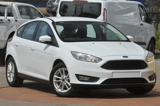 2017 Ford Focus LZ Trend Frozen White 6 Speed Automatic Hatchback.