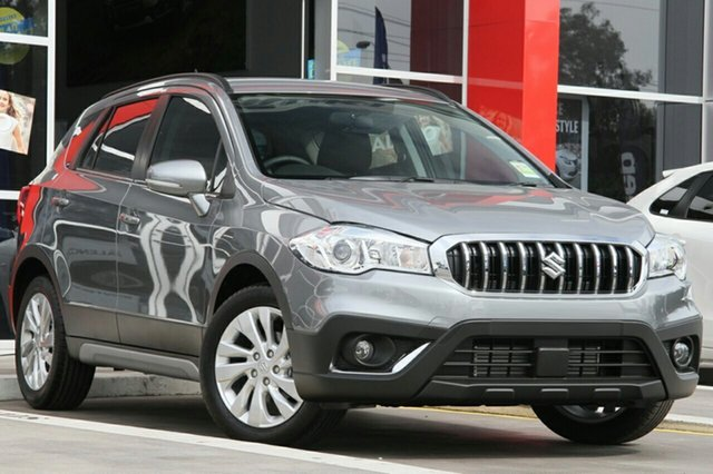New Suzuki S-Cross JY Turbo Hamilton, 2020 Suzuki S-Cross JY Turbo Galactic Grey 6 Speed Sports Automatic Hatchback