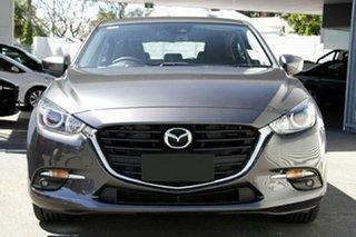 2018 Mazda 3 BN5436 SP25 SKYACTIV-MT Machine Grey 6 Speed Manual Hatchback