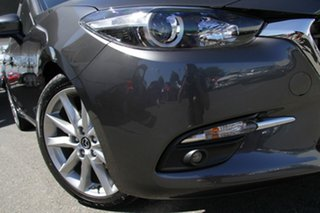 2018 Mazda 3 BN5436 SP25 SKYACTIV-MT Machine Grey 6 Speed Manual Hatchback.
