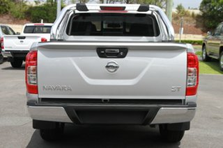 2018 Nissan Navara D23 S3 ST Brilliant Silver 6 Speed Manual Utility