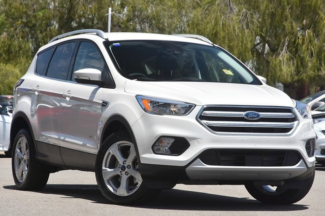 New Ford Escape ZG Trend 2WD, 2017 Ford Escape ZG Trend 2WD White Platinum 6 Speed Sports Automatic Wagon
