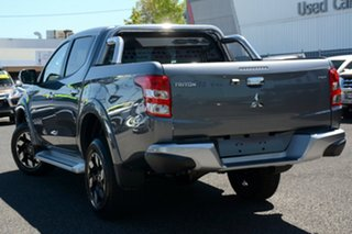 2018 Mitsubishi Triton MQ MY18 Exceed Double Cab Titanium 5 Speed Sports Automatic Utility